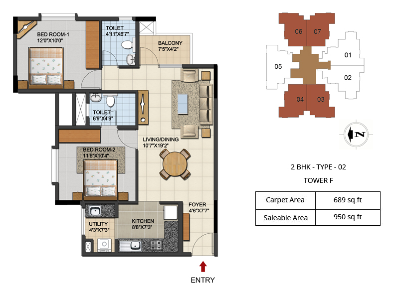 2 3 Bhk Apartment Near Hebbal Flyover Bangalore